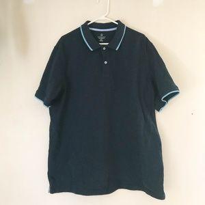 Lands End Mens Size XXL/T (50-52) Shirt Cotton